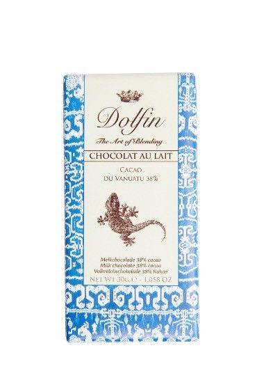 Dolfin - Chocolat au lait du Vanuatu 38% cacao