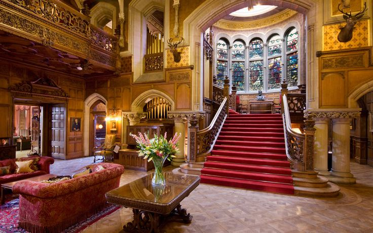 Skibo Castle - the most amazing place in the world to stay. I have been there twice and would love to go back again but would really need to win the lottery for that - one day maybe :)