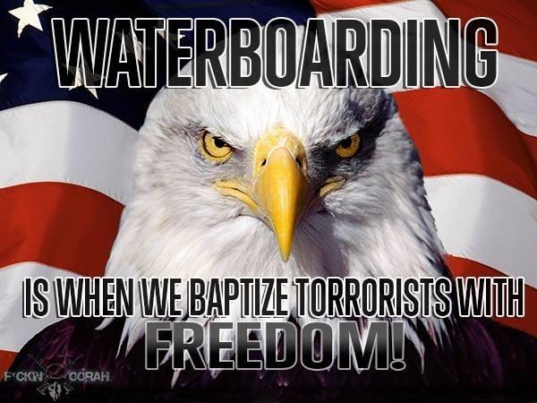 Water boarding  Marine Corps humor lol