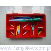 Walizeczka logopedyczna z wibratorami SQpen (Rerek), Z-vibe i ze szpatułkami