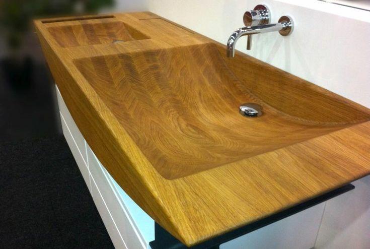 Waschtisch+und+Waschbecken+Holz+Ideen+und+Inspirationen