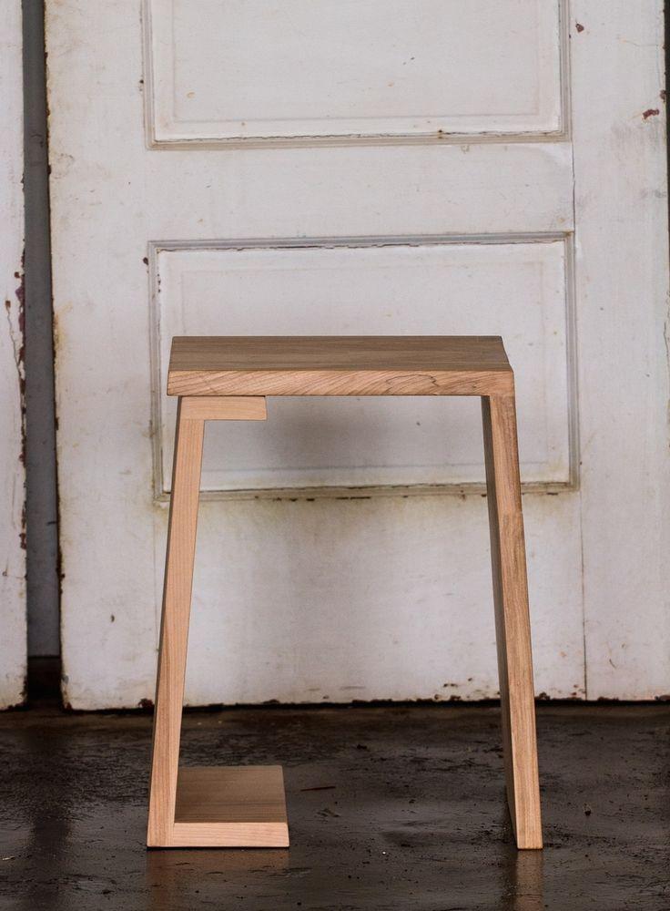 Strand end table by Stephen Lysak