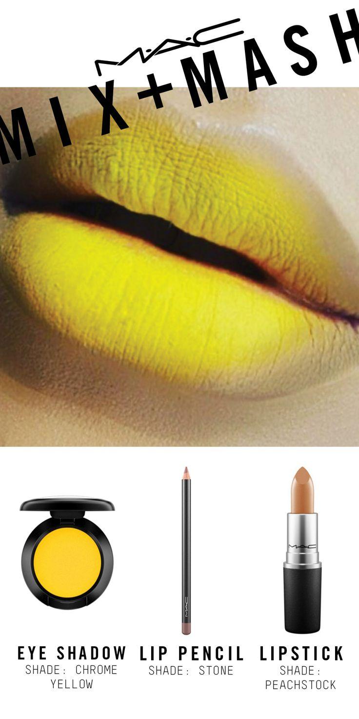 Mac Yellow Lipstick