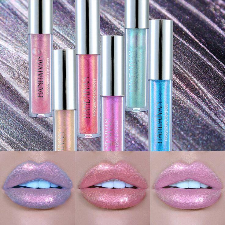 Handaiyan holographic metallic diamond lip gloss sparkling