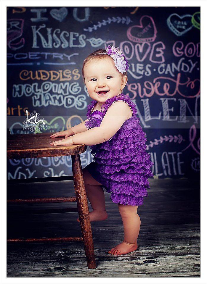 Grape lace petti romper  purple lace romper  1st by CEBowtique, $10.00