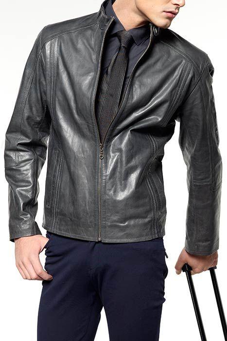 Модные мужские кожаные куртки весна-лето 2011 | купить мужскую кожаную одежду.