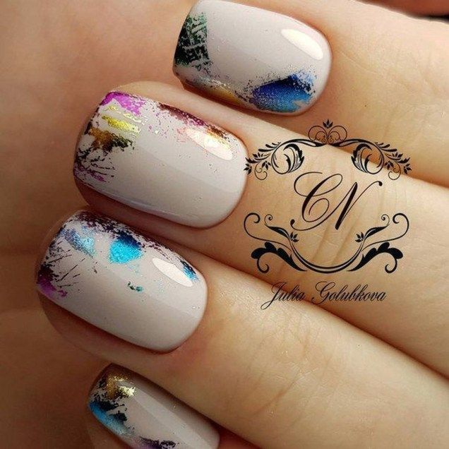 Simple Fall Nail Art Designs Ideas You Need To Try47