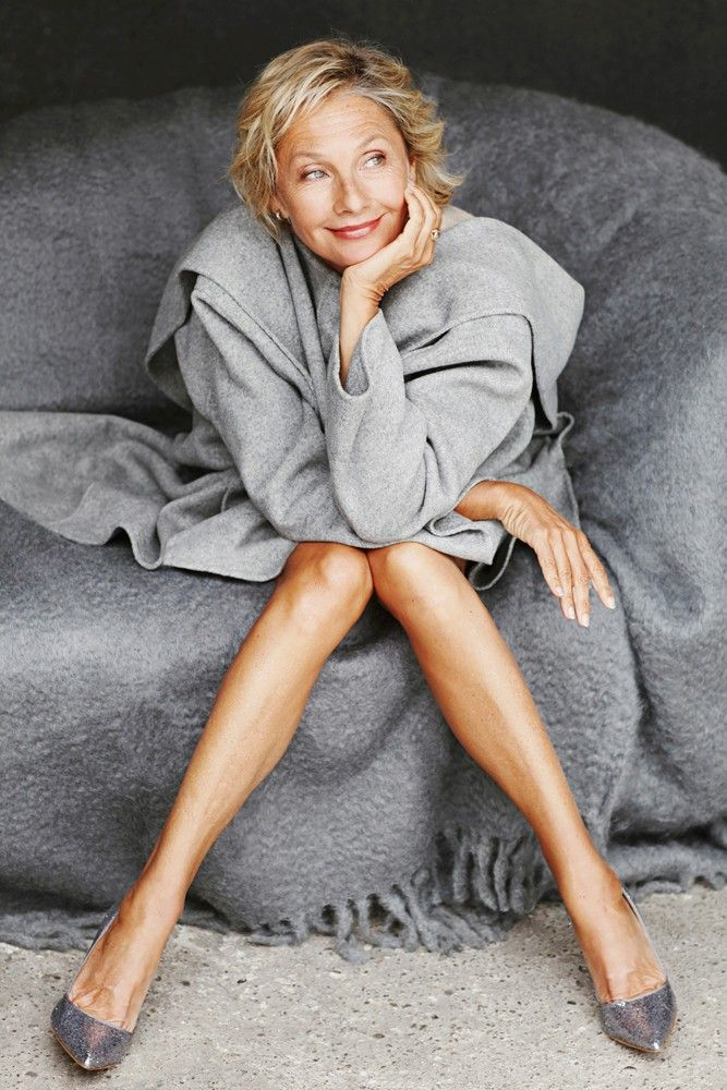 Wookie Mayer (age 60) a fashion model, actress, psychologist-