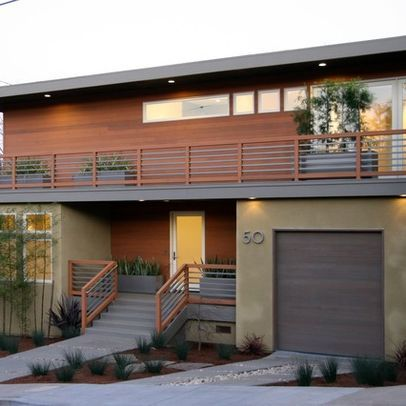 17 best images about my mid century modern childhood on - Protruding balcony modern house plans ...