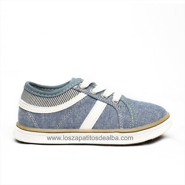 Zapatillas lona niño Jeans Casual