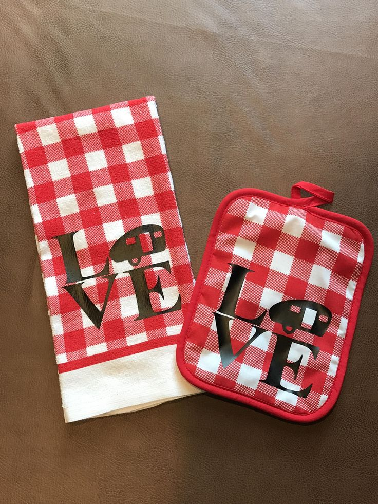 LOVE to CAMP Dish Towel/Hot Pad Set, Gifts for Campers, Love to Camp, Towels, Cute Gifts and More by GameDayTailgating on Etsy