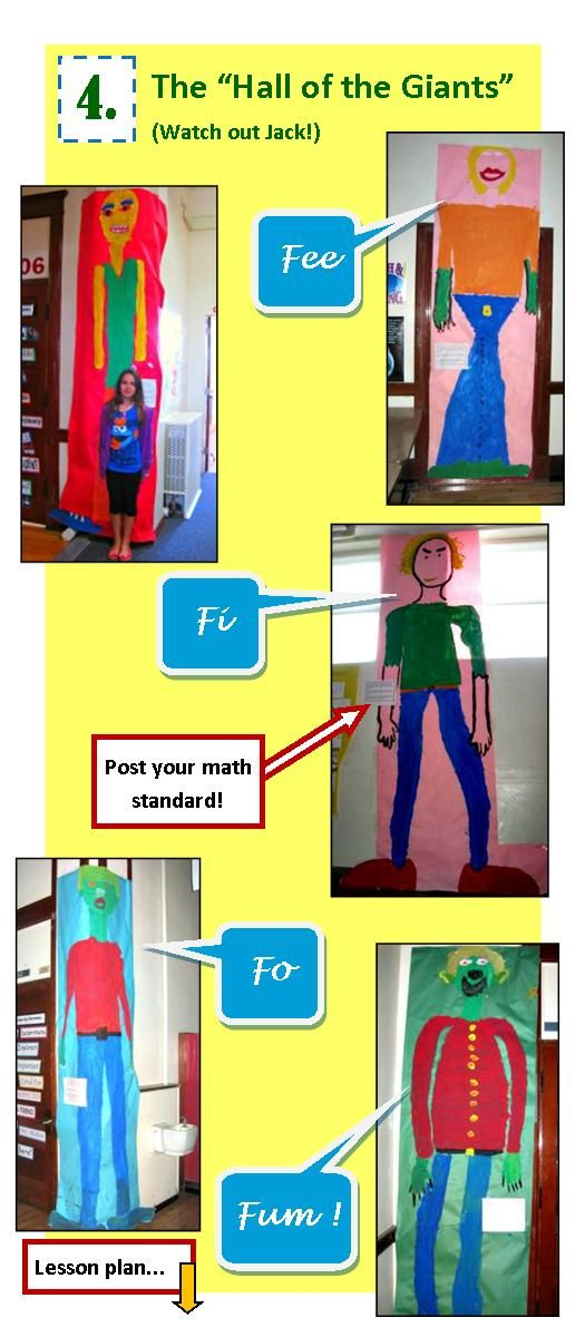 Elementary Math Activities for Measurement | Create Paper Giants that Kids Love