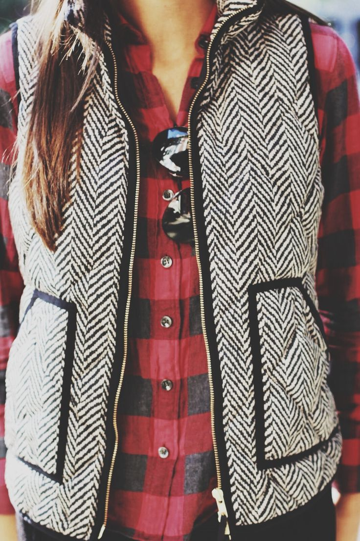 I like this Herringbone vest from J Crew but I think it's sold out. Might can find one similar elsewhere.