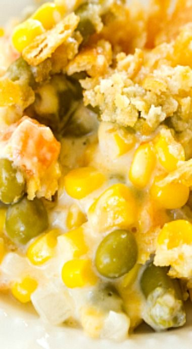 Corn and Mixed Vegetable Casserole