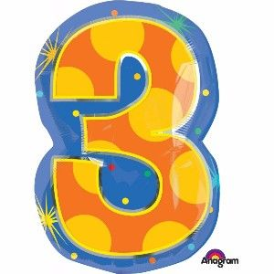 5 Interesting Ways to Use Number Shape Balloons