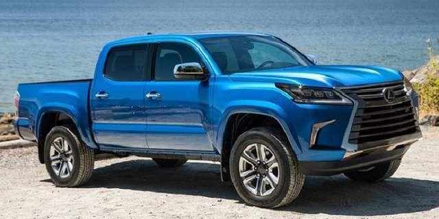 Lexus LXT pickup truck concept 2