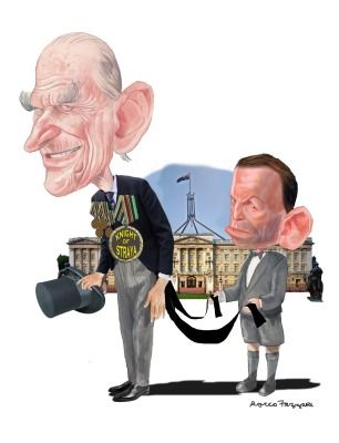 TONE, PRINCE PHILIP BUTLER Cartoon by ROCCO FAZZARI. January