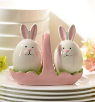 43 Best Images About Rabbit Salt And Pepper Shakers On