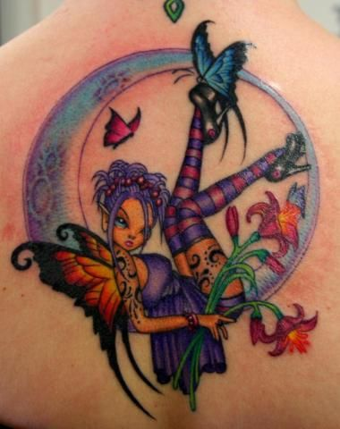 best 10 fairy tattoo designs ideas on pinterest fairies tattoo realist tattoos and pixie tattoo. Black Bedroom Furniture Sets. Home Design Ideas