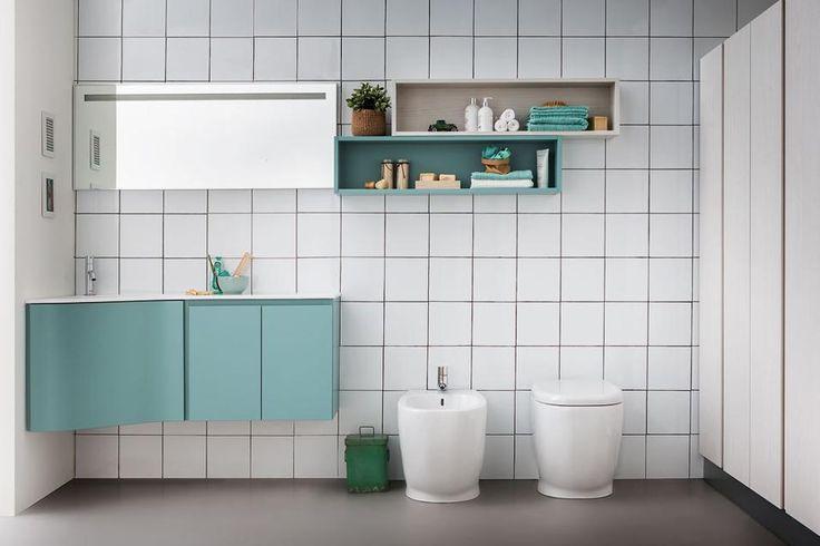 20 idee per arredare un bagno piccolo lapis qui - Idee specchi per bagno ...