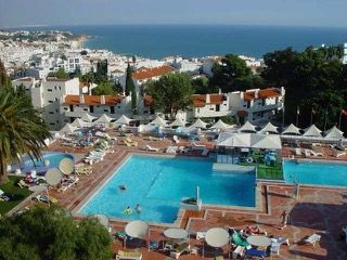 Albufeira, Algarve The Albufeira Jardim is an ideal family property and offers lots of facilities to keep children entertained. The apartments overlook Albufeira and there are plenty of shops, bars and restaurants nearb...  Customer Rating3.6 / 5 from 10 reviews