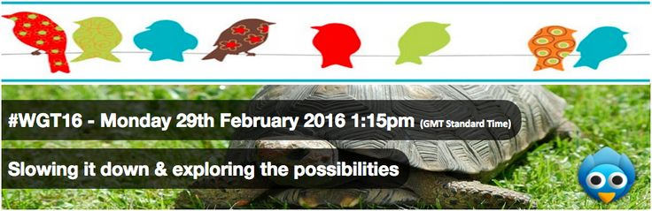 A Twitter chat for #WGT16 - The big question of the day is 'How can we together improve services and peoples lives through social media?'