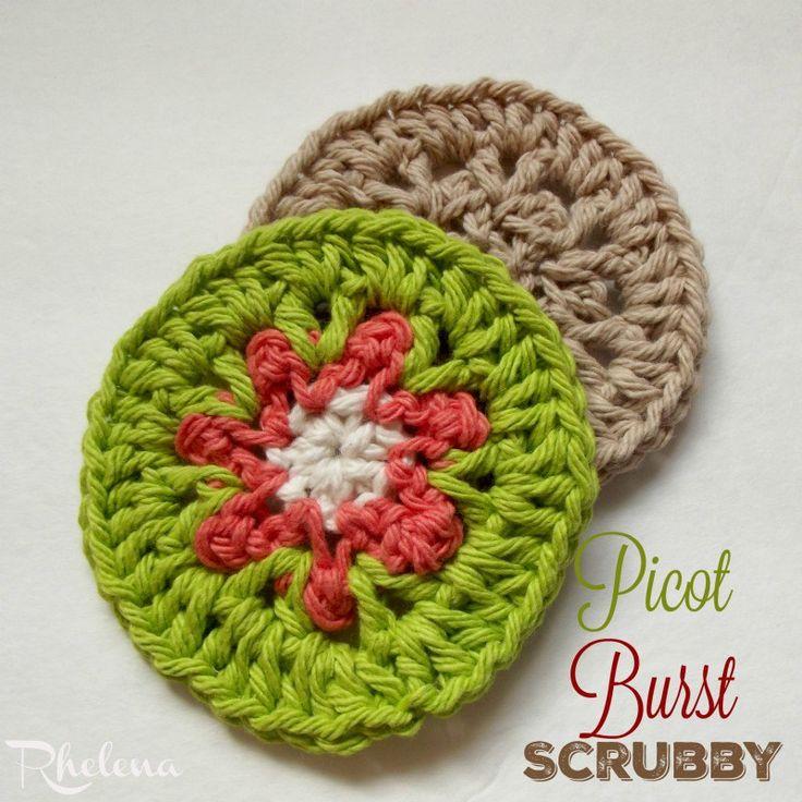 Mejores 304 imágenes de Crochet - Kitchen en Pinterest | Artesanía ...