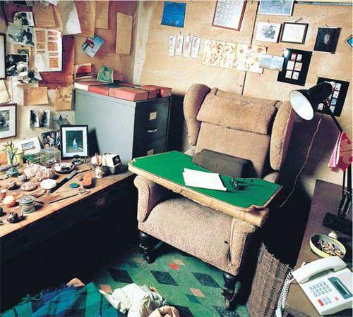 Roald Dahl's Desk