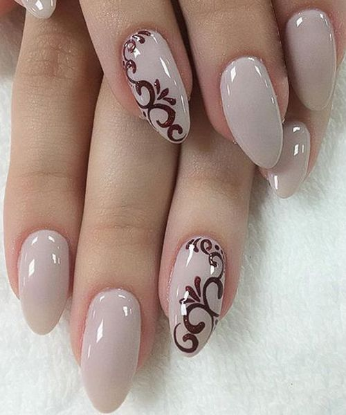 Super Cute Bridal Nail Art Designs 2018