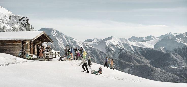 kampagnensujet 2014 winter snow jazz gastein © Österreich Werbung - Peter Burgstaller