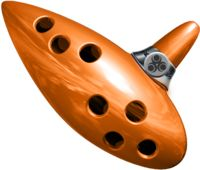 OCARINA: Es un pequeño instrumento de viento sin llaves, descendiente de primitivos silbatos hechos de barro o de hueso.