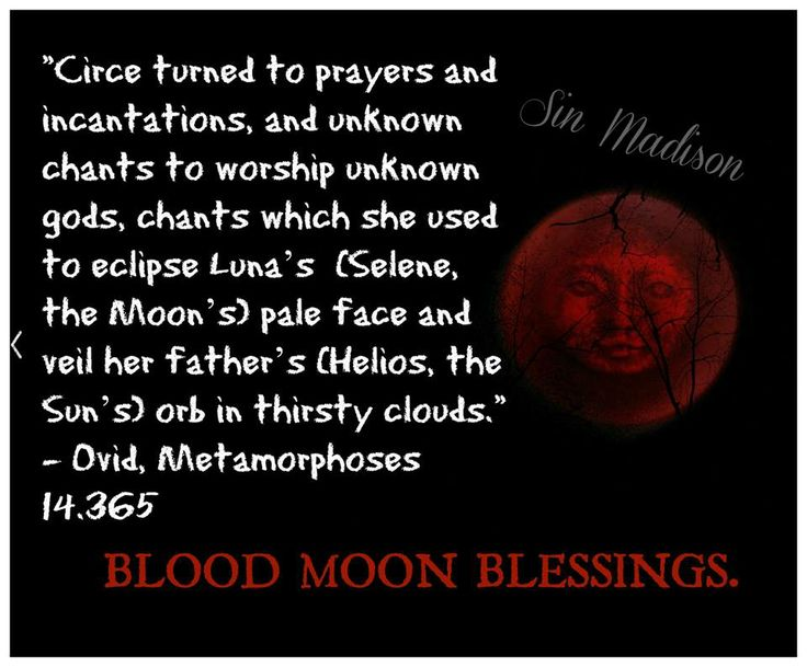 blood moon eclipse witchcraft - photo #4