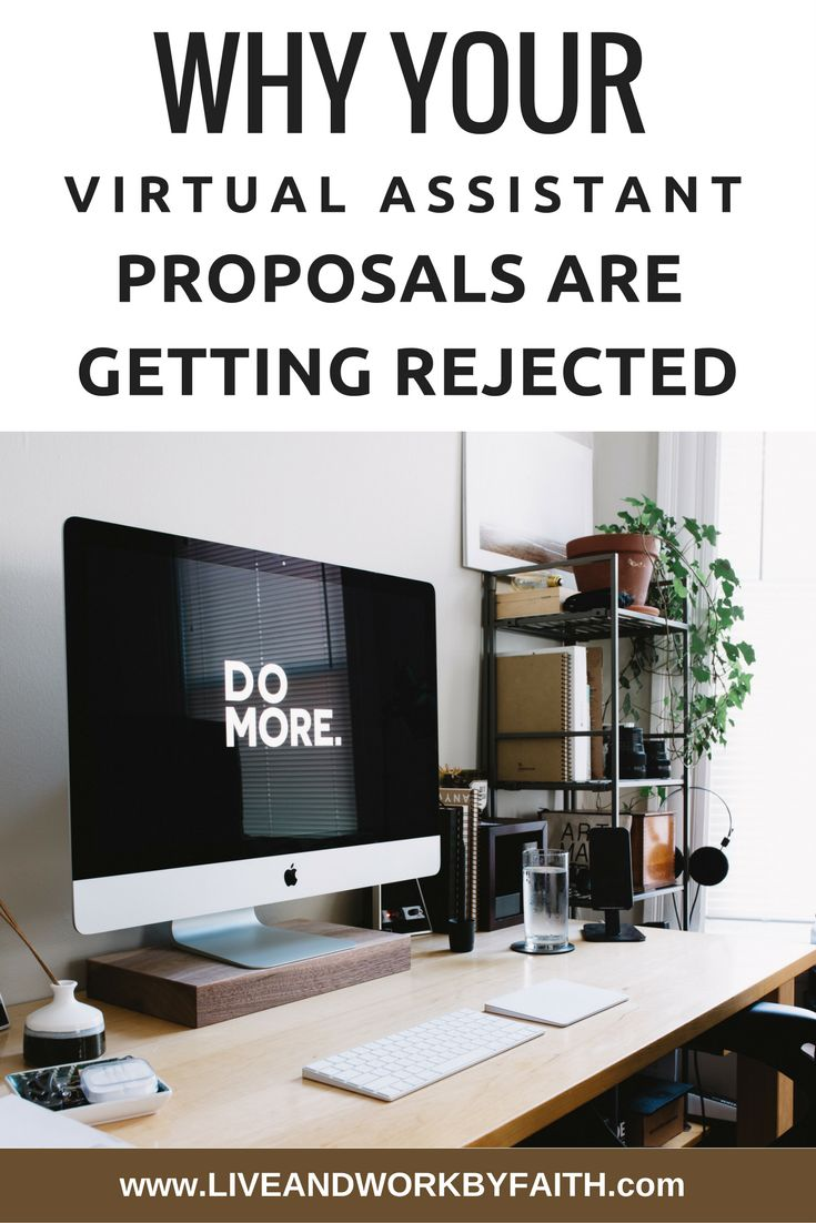 Find out why your virtual assistant proposals are getting rejected and   learn how you can fix it.
