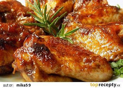 Marinovaná křidélka recept - TopRecepty.cz