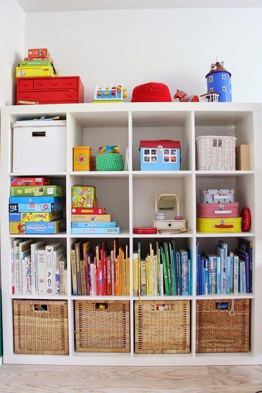 Kids room shelf, Ikea Expedit / Kotisaari