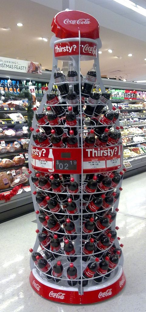 "Coca Cola Display for ""Share a Coke with ______"" Campaign 