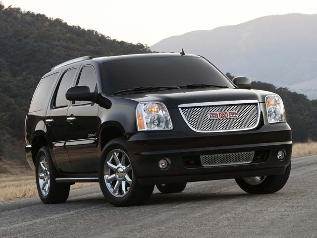GMC Yukon Denali - rugged, sleek, and can carry tons of cargo! We absolutely love this model.