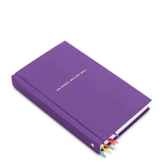 big secrets, brilliant ideas journal - kate spadeBall Journals, Colors Journals, Ideas Journals, Christmas, Journals If, Brilliant Ideas, Ribbons Bookmarks, Bookmarks Ideas, Kate Spade Notebooks