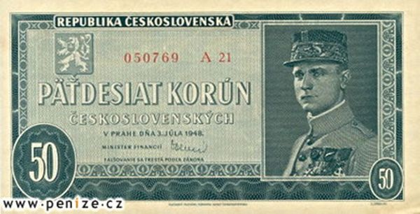 (The status of CzeGeneral Milan Rastislav Stefanik- July 21, 1880 in Košariská-Slovakia-May 4, 1919 in Ivanka pri Dunaji. Was a Slovak politician, diplomat, and astronomer. During World War I, he served as a General in the French Army and, at the same time, as the Czechoslovak Minister of War. As one of the leading members of the Czechoslovak National Council (i.e. resistance government), he contributed decisively to the cause of Czechoslovak sovereignty.