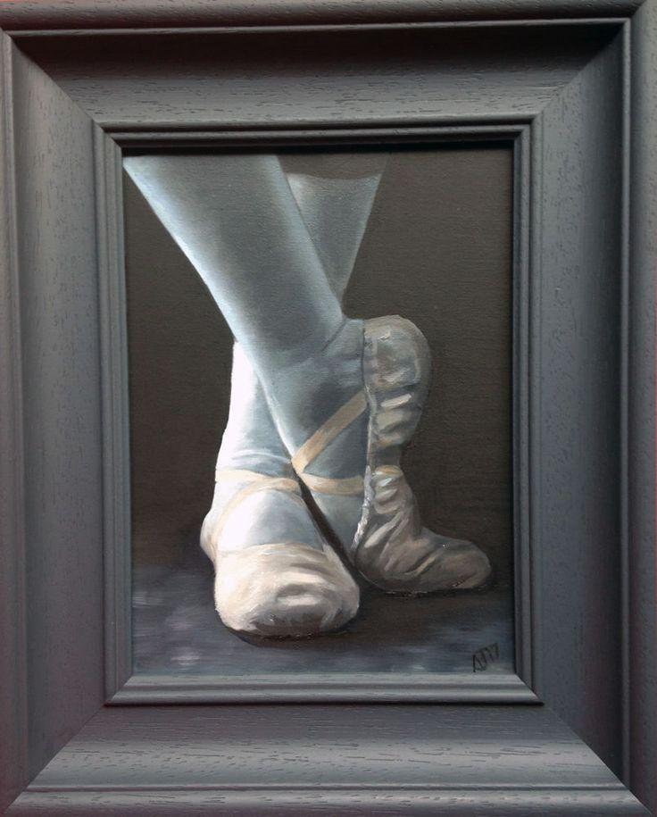 Resbite, #ballet  Shoes #maledancer #MaleDancer, Framed, UK #artist , #artwork  #Realism