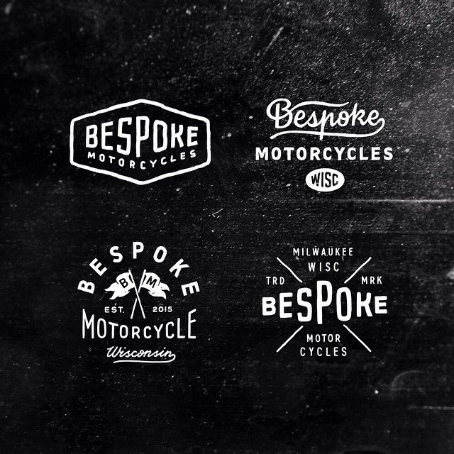 "Logotype sketches for @xs650motorcycles and their project ""Bespoke motorcycles"" #logo #logotype #moto #bespoke #motorcycle #caferacer #handdrawn #handlettering #typo #typography #blackwhite"