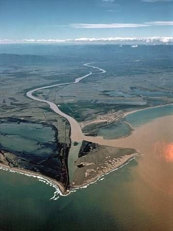 Delta de l'Ebre | Paisajes para el cole: Los ríos (Catalunya - Catalonia)