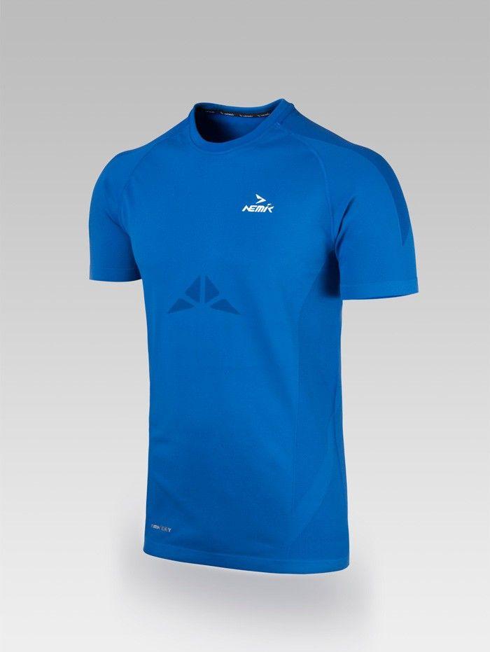 Playera deportiva blue Nemik #tshirt #blue #Nemik