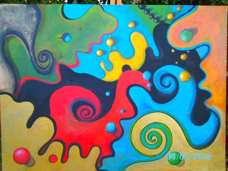 pinturas abstractas | Pinturas abstractas | Pinterest | Pintura ...