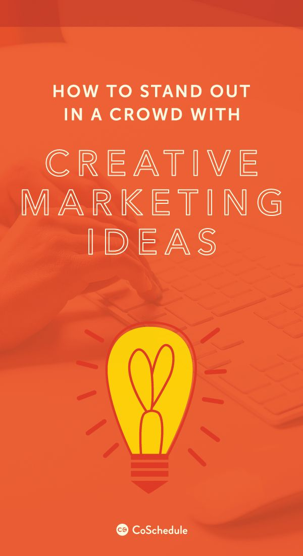 Find out what you are doing wrong in your marketing and how to improve it. (+50 Creative Marketing Ideas) http://coschedule.com/blog/creative-marketing-ideas/?utm_campaign=coschedule&utm_source=pinterest&utm_medium=CoSchedule&utm_content=How%20To%20Stand%20Out%20In%20A%20Crowd%20With%20Creative%20Marketing%20Ideas