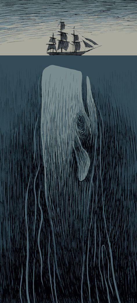 el hombre duerme, el fantasma no: Moby Dick (2)