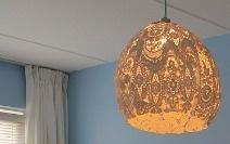 Maak je eigen kanten lamp!