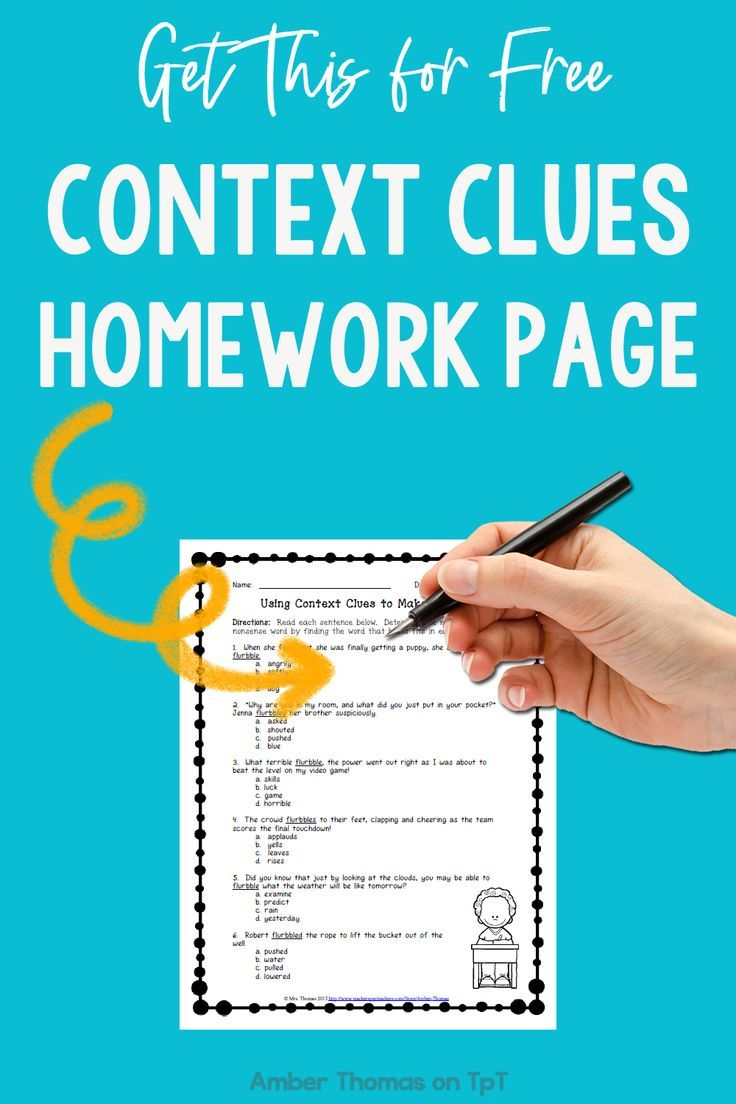 small resolution of Free Context Clues Worksheet   Context clues