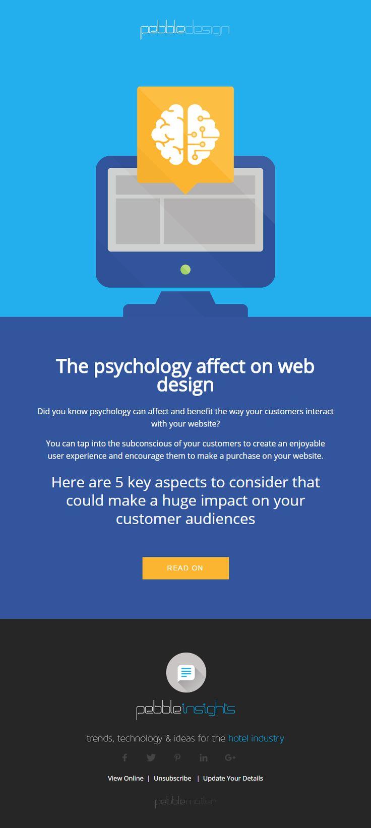 The psychology affect on web design - Hospitality Insights #hospitalityinsights #hotelwebdesign #hotelwebsitedesign #pebbledesign #hotelwebsites