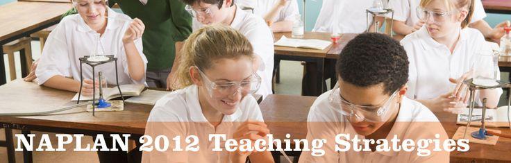 NAPLAN 2012 Teaching Strategies